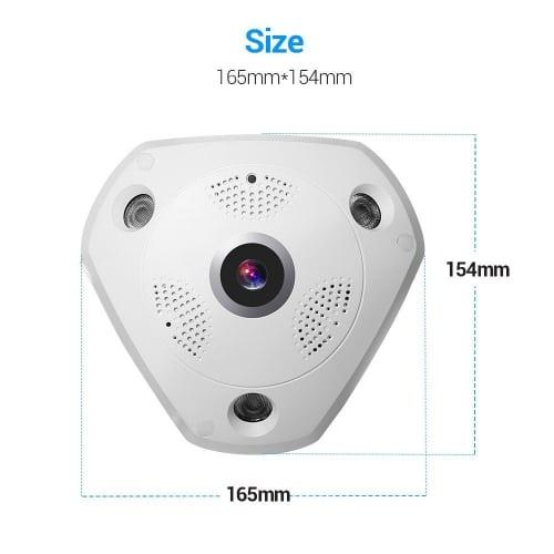 360 Grad Überwachungskameras im Überblick - 360 Grad Überwachung !